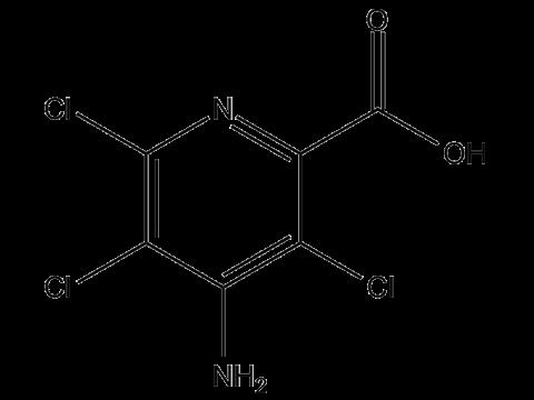 Пиклорам - Структурная формула