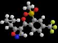 Изоксафлютол - Трехмерная модель молекулы