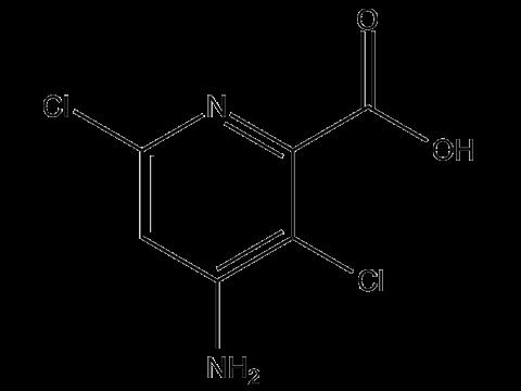 Аминопиралид - Структурная формула