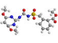 Бенсульфурон-метил - Трехмерная модель молекулы