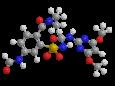 Форамсульфурон - Трехмерная модель молекулы