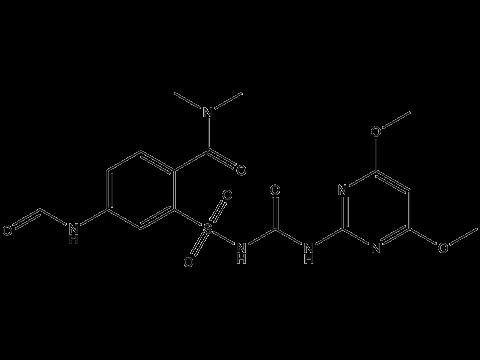 Форамсульфурон - Структурная формула