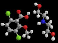 Дикамба (диэтилэтаноламмониевая соль)