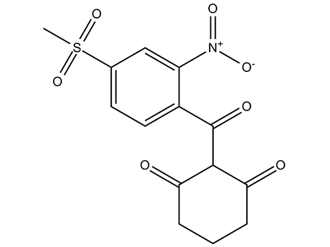 Мезотрион - Структурная формула
