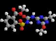 Метсульфурон-метил - Трехмерная модель молекулы