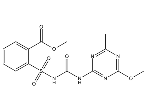 Метсульфурон-метил - Структурная формула