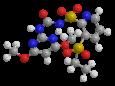 Римсульфурон - Трехмерная модель молекулы