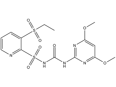 Римсульфурон - Структурная формула