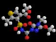 Тиенкарбазон-метил - Трехмерная модель молекулы