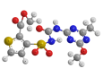 Тифенсульфурон-метил - Трехмерная модель молекулы