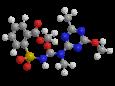 Трибенурон-метил - Трехмерная модель молекулы