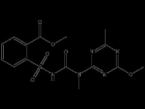 Трибенурон-метил - Структурная формула