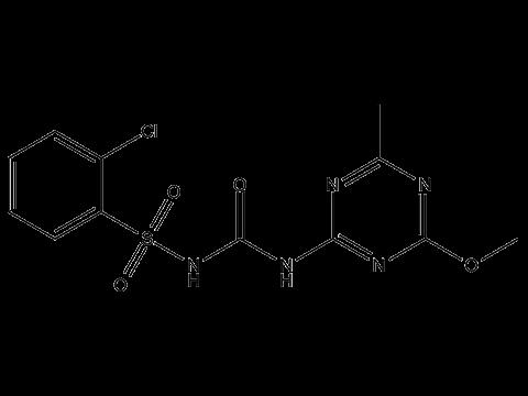 Хлорсульфурон - Структурная формула