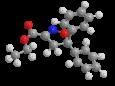 Изоксадифен-этил - Трехмерная модель молекулы