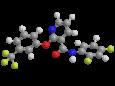 Дифлюфеникан - Трехмерная модель молекулы