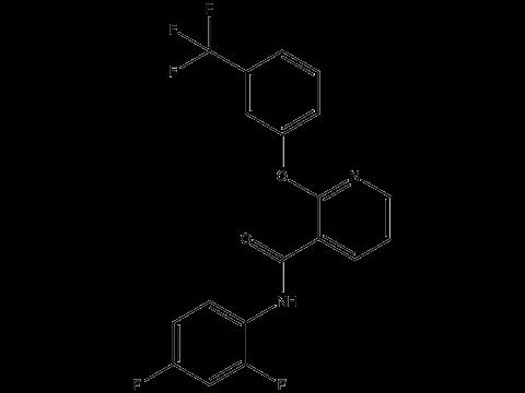 Дифлюфеникан - Структурная формула