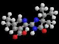 Имазетапир - Трехмерная модель молекулы