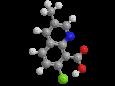 Квинмерак - Трехмерная модель молекулы