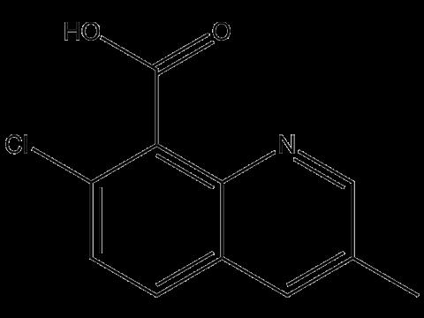 Квинмерак - Структурная формула