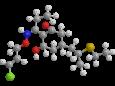 Клетодим - Трехмерная модель молекулы