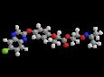 Пропаквизафоп - Трехмерная модель молекулы