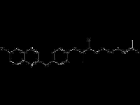 Пропаквизафоп - Структурная формула