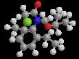 Пропизохлор - Трехмерная модель молекулы