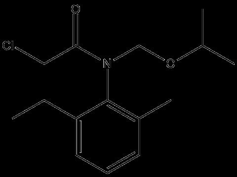 Пропизохлор - Структурная формула