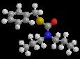 Просульфокарб - Трехмерная модель молекулы