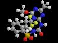 Просульфурон - Трехмерная модель молекулы