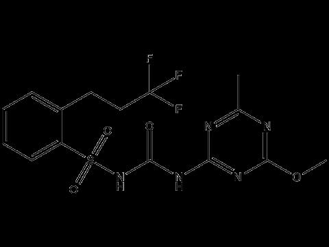 Просульфурон - Структурная формула