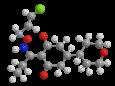 Тепралоксидим - Трехмерная модель молекулы