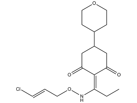 Тепралоксидим - Структурная формула