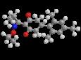 Тралкоксидим - Трехмерная модель молекулы