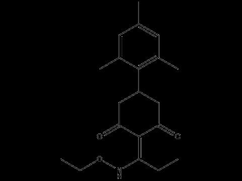Тралкоксидим - Структурная формула