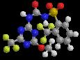 Тритосульфурон - Трехмерная модель молекулы