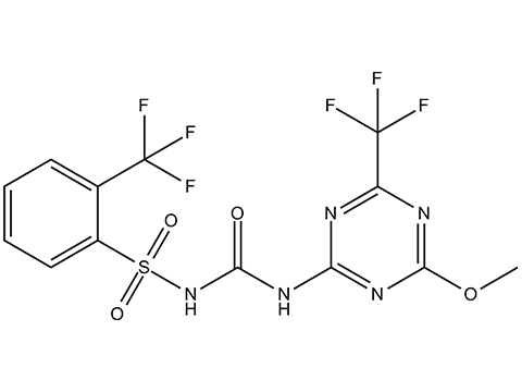 Тритосульфурон - Структурная формула