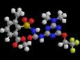 Трифлусульфурон-метил - Трехмерная модель молекулы