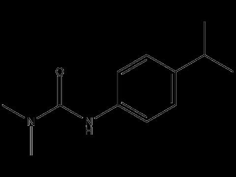 Изопротурон - Структурная формула