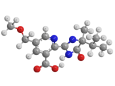 Имазапир - Трехмерная модель молекулы