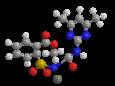 Сульфометурон-метил (калиевая соль) - Трехмерная модель молекулы