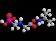 Глифосат (изопропиламинная соль) - Трехмерная модель молекулы