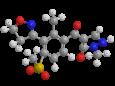 Топрамезон - Трехмерная модель молекулы