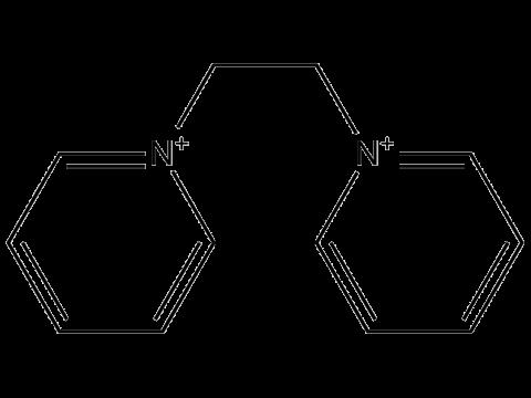 Дикват - Структурная формула