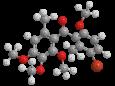 Метрафенон - Трехмерная модель молекулы