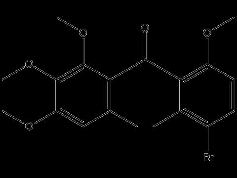 Метрафенон - Структурная формула