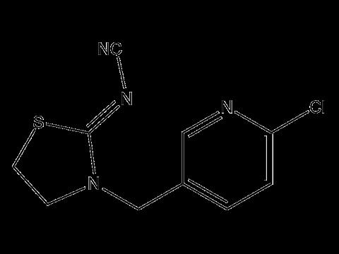 Тиаклоприд - Структурная формула