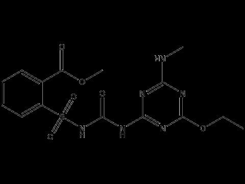 Этаметсульфурон-метил - Структурная формула