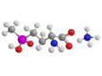 Глюфосинат аммоний - Трехмерная модель молекулы