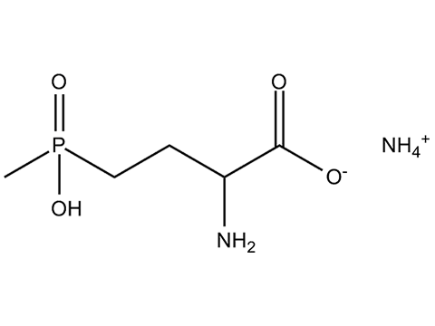 Глюфосинат аммоний - Структурная формула